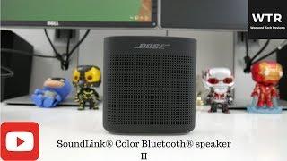 SoundLink® Color Bluetooth® speaker II (Soft Black)