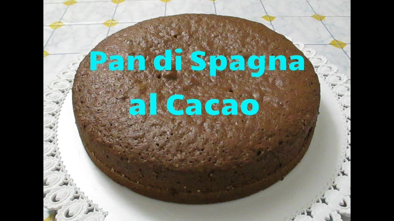 Ricetta Pan Di Spagna Al Cioccolato Bimby.Pan Di Spagna Al Cacao Bimby Tm5 Youtube