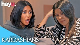 Kourtney And Kim Kardashian Fight Over CANDY!! | Season 17 | Keeping Up With The Kardashians