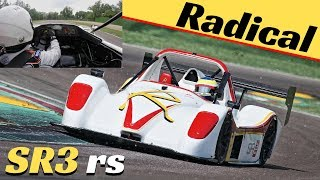 Radical SR3 RS in Action + OnBoard at Imola Circuit - Historic Minardi Day 2018