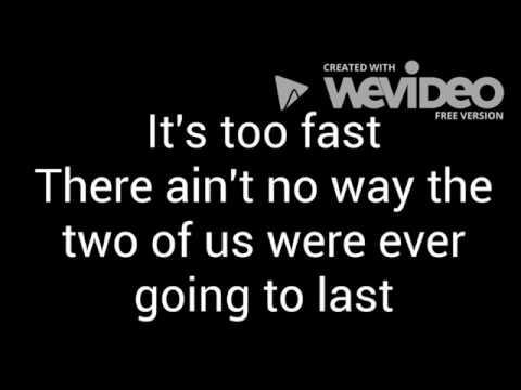 Luke Bryan Fast Lyrics