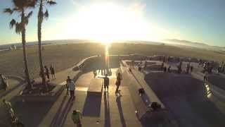 LA Drone: DJI Phantom over Venice Beach Skate Park