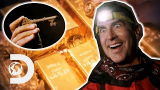 Rob Finds A Key Where The Skeleton Canyon Treasure Could Be Buried | Rob Riggle: Global Investigator