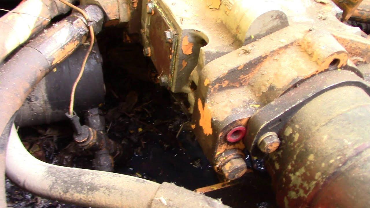 hight resolution of case 1835b uni loader breaks down tandem pump