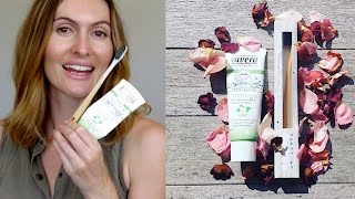 Organic Dental Care Review - Lavera Toothpaste & PearlBar Bamboo Toothbrush
