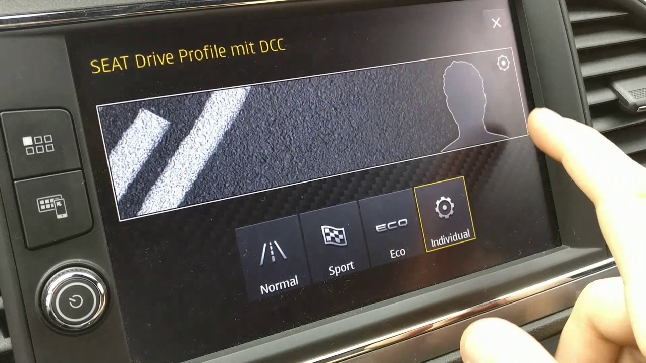 seat leon 5f dcc settings from arteon youtube. Black Bedroom Furniture Sets. Home Design Ideas