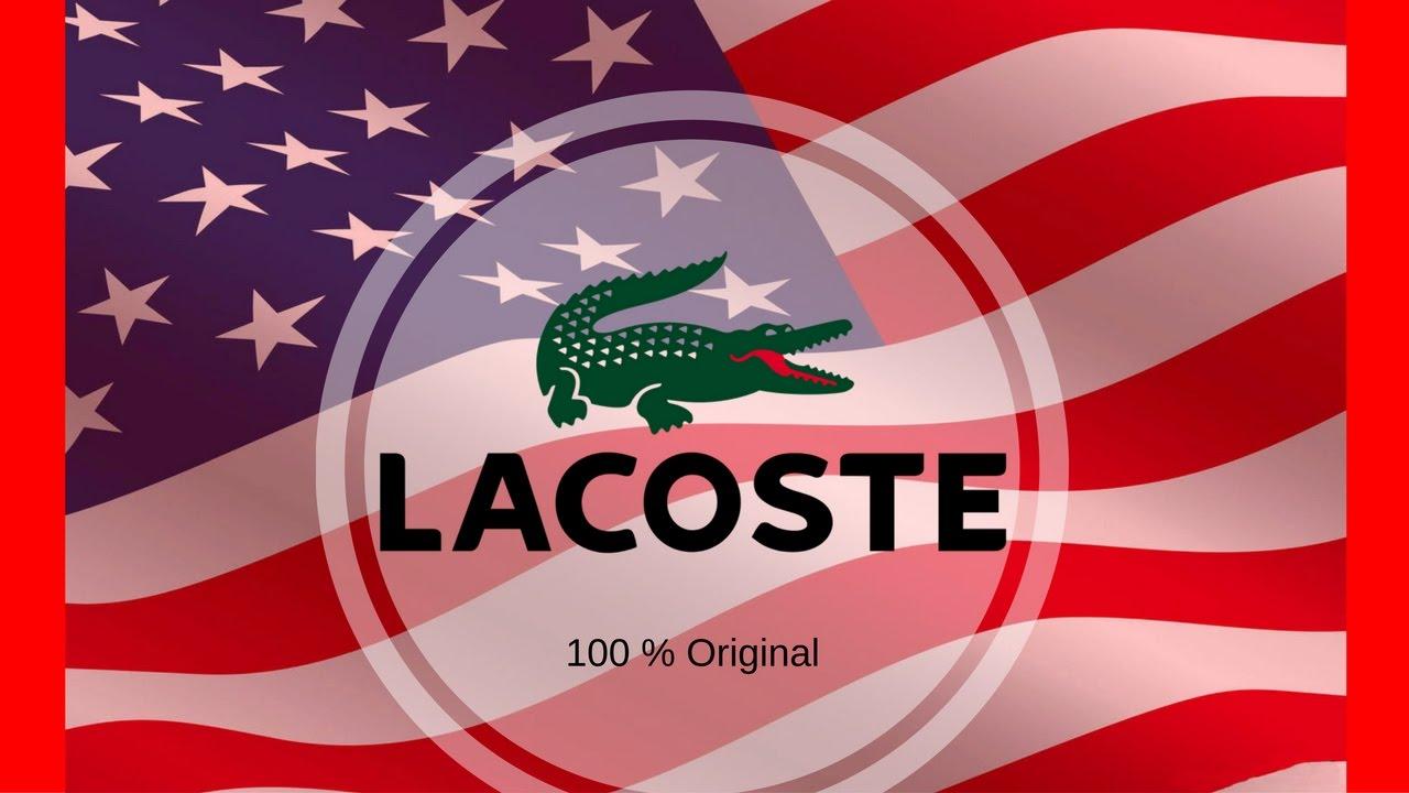 e76f39506 Lacoste - Camiseta Lacoste Original de Miami - YouTube
