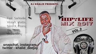 Video Hiplife Mix 2017 Vol 2 by dj Khalid Canada download MP3, 3GP, MP4, WEBM, AVI, FLV Mei 2018