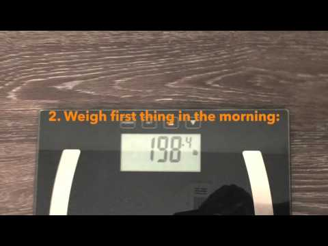 How to Weigh Yourself Properly