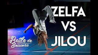 Zelfa vs Jilou - 1/4 Final - Battle De Soissons - 2018