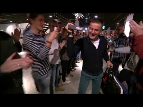 Huldiging van de beste tv-presentator van Nederland - VOETBAL INSIDE