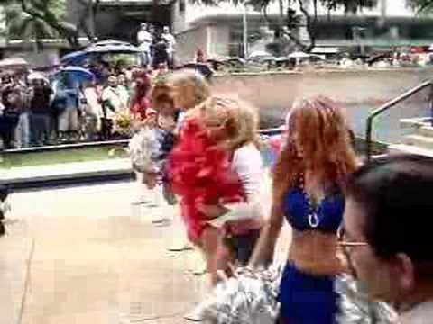 AFC Pro Bowl Cheerleaders At Kick-Off Rally