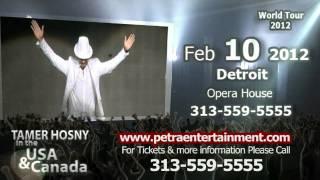 Tamer Hosny USA & Canada World Tour 2012 TVC
