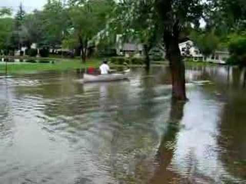 Palatine IL Flood August 23, 2007