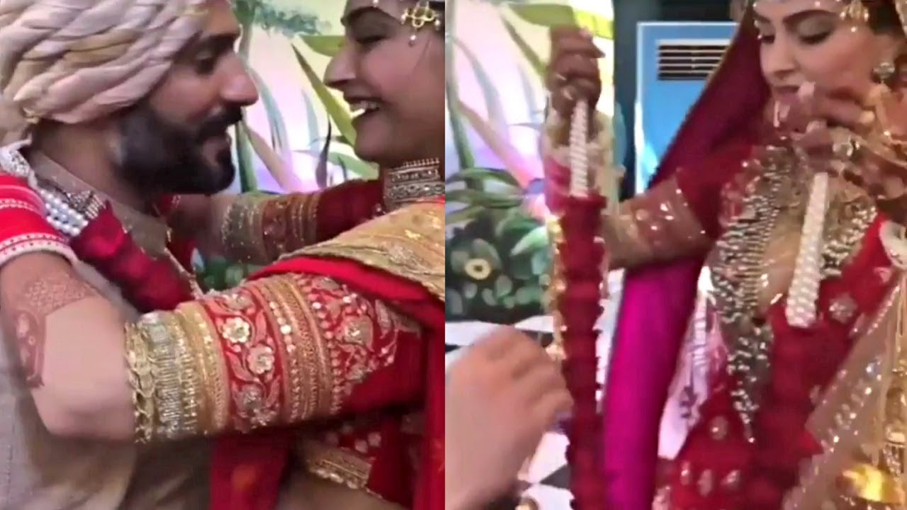 Sonam Kapoor And Anand Ahuja Inside Wedding Video