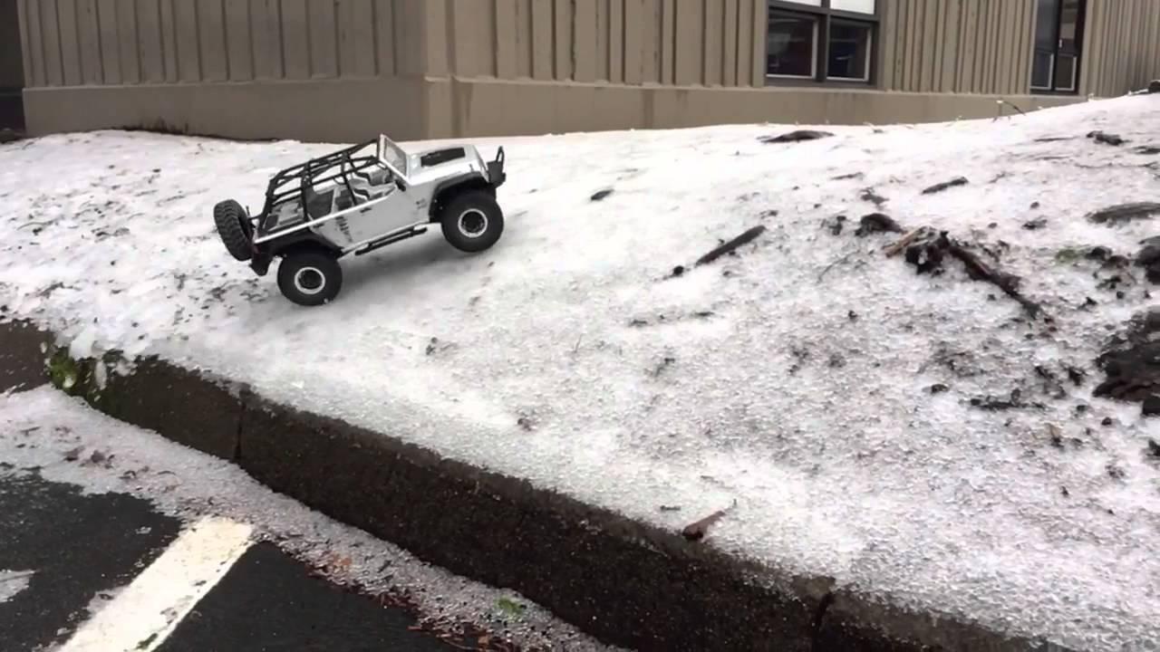 Jeep Rubicon Rollover, Portland Icy Road Conditions, Snowpocalypse 2016
