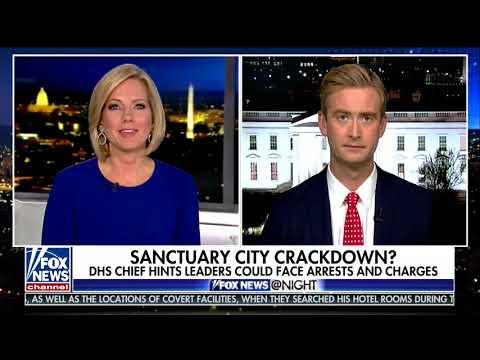 Fox News @ Night - Shannon Bream - January 16, 2018 - Archive