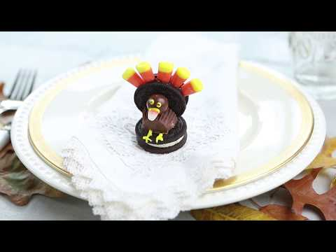 How to Make Thanksgiving Turkeys from Candy!
