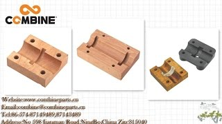 High hardness Wood bearing block