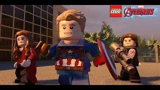 DLC ГРАЖДАНСКАЯ ВОЙНА в игре LEGO MARVEL's Avengers