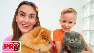 Vlad e mamãe trocaram animais de estimação