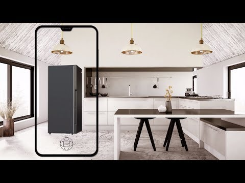 Augmented Reality - Westinghouse 528L Bottom Mount Fridge WBE5300BBR - National Product Review