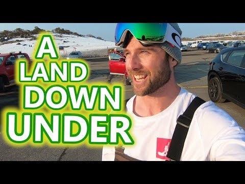 Snowboarding In A Land Down Under
