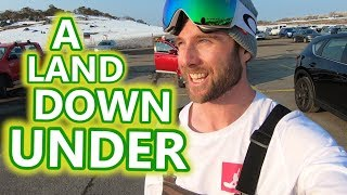 Snowboarding In A Land Down Under