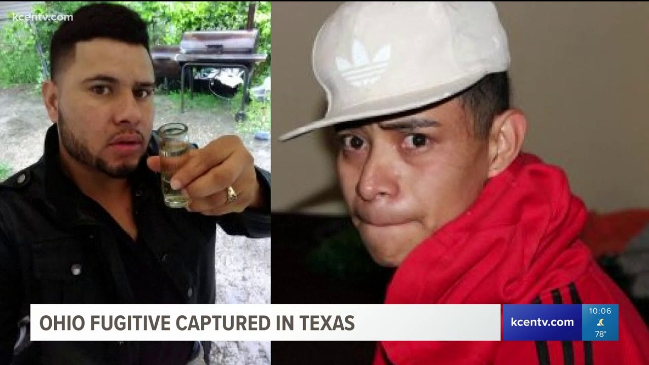 Fugitive wanted in Ohio captured in Texas