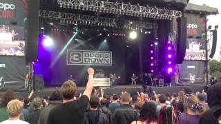 3 Doors Down - Here Without You (Download Festival 2013)
