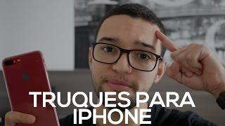 10 TRUQUES DO iPHONE QUE TODO MUNDO DEVE SABER!