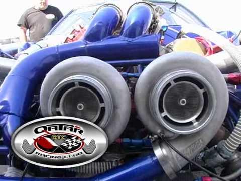 QATAR RACING CLUB 2013 David Hance 10.5 OUTLAW Mustang