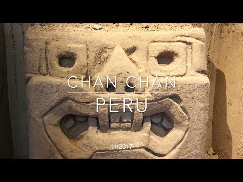 Chan-Chan, Peru - the biggest adobe city in the world