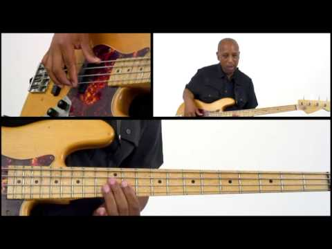 50 R&B Bass Grooves - #48 - Bass Guitar Lesson - Andrew Ford