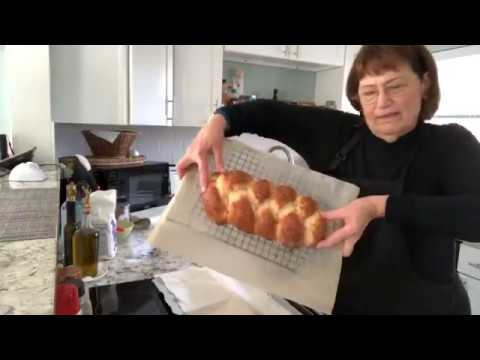 Braided Bread Made With Frozen Bread Dough
