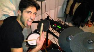 Nirvana - Rape Me Drum Cover by: Fiore Matteo