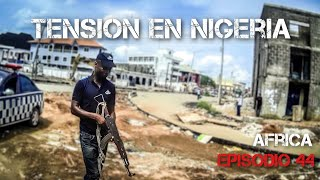 TENSION in Nigeria | Motorcycle world tour | Africa #44 [SUB]