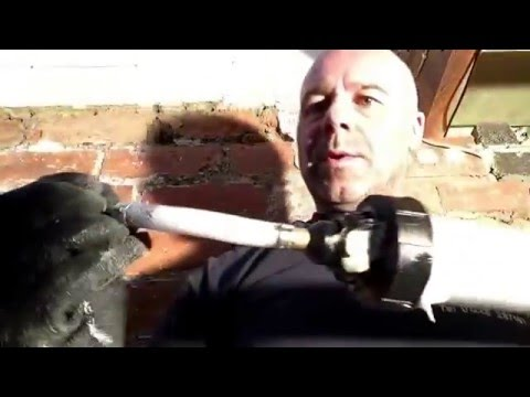 How to drill and inject a damp proof course (DPC)
