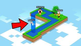99.9% IMPOSIBLE SOBREVIVIR en esta ILUSIÓN ÓPTICA en MINECRAFT 🤯� Invictor Mapa Minecraft #2