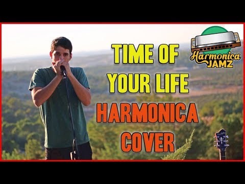 Green Day - Time of Your Life: HARMONICA cover