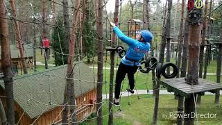 Верёвочный парк от Егора Дубовика