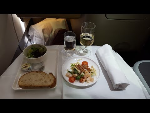 Qantas Business Suite – Brisbane to Hong Kong (QF 97) – Airbus A330-300