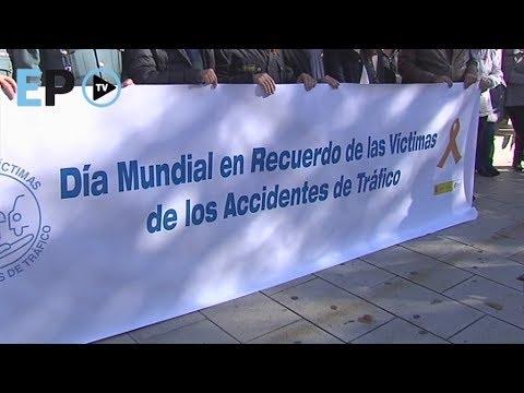 Lugo recuerda a las víctimas de los accidentes de tráfico