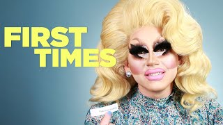 Download Trixie Mattel Tells Us About Her First Times Mp3 and Videos