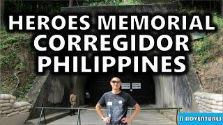 Manila Filipino Heroes Memorial Corregidor Island Philippines S1 Ep4