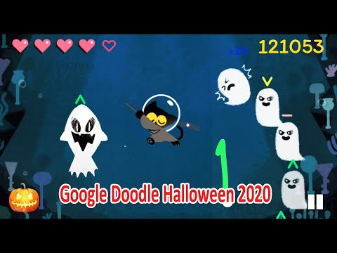 halloween google doodle 2020 full game magic cat battle under the sea youtube halloween google doodle 2020 full game magic cat battle under the sea