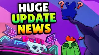HUGE NEW UPDATE SNEAK PEEK! NEW UPDATE MYSTERY IN BRAWL STARS!