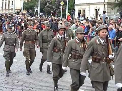 Military parade Prague 2005