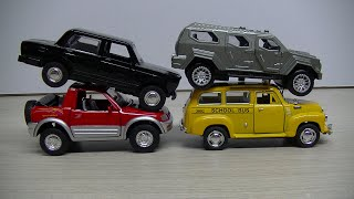 Toy 4 Cars  Play Video for Kids