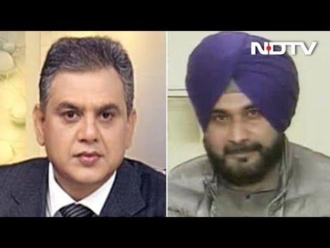 Assembly Election Results 2018: NDTV के इस सवाल पर शो छोड़कर चले गए सिद्धू